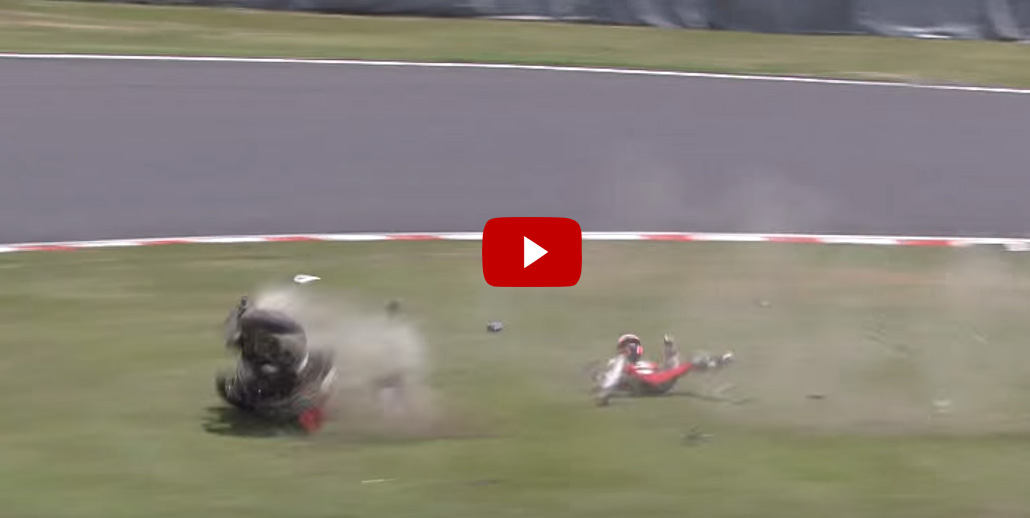 Incidente Stoner 8 ore di Suzuka 2015 (Video)