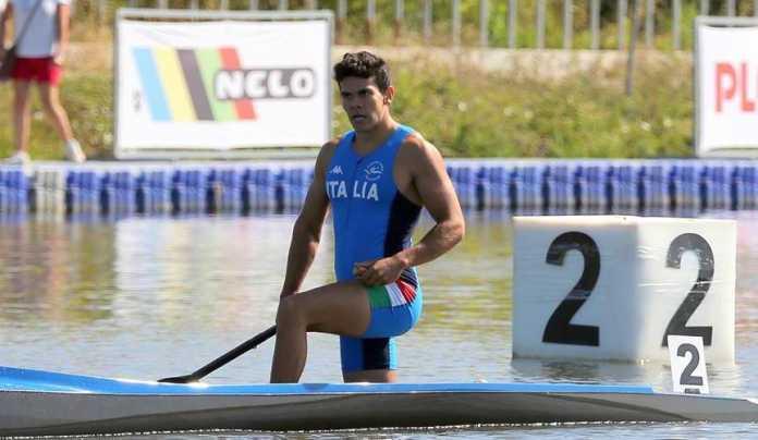 Tacchini in Finale 1000 metri Canoa Velocità (Rio 2016)