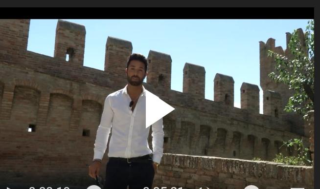 Claudio D'Angelo, Video Presentazione Tronista Uomini e Donne