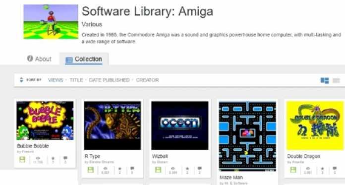 Archive rilancia Amiga: Diecimila giochi disponibili