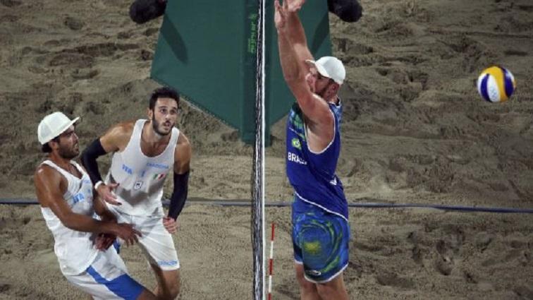 Lupo-Nicolai Argento Beach Volley, il Brasile vince 2-0 (Rio 2016)