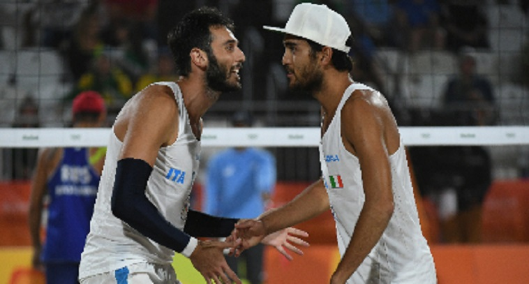 Lupo/Nicolai in Finale Beach Volley a Rio 2016