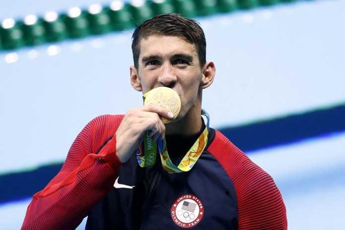 Michael Phelps Oro nei 200 Farfalla (Nuoto Olimpiadi 2016)