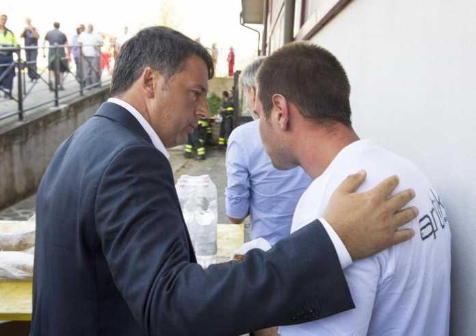 Renzi ad Amatrice: