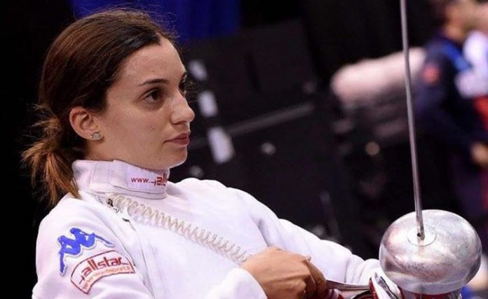 Fiamingo in Semifinale a Rio 2016 (Spada Individuale Femminile)