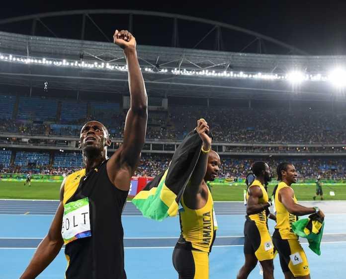 Bolt Oro con la 4x100 Giamaica a Rio 2016