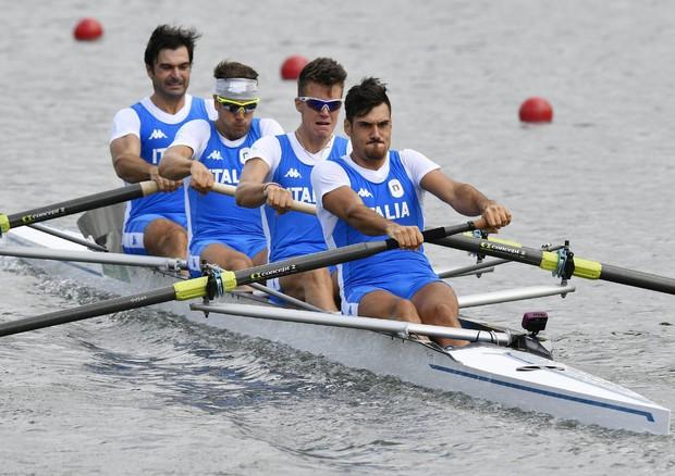 Italia Bronzo nel 4 Senza Uomini (Canottaggio Rio 2016)
