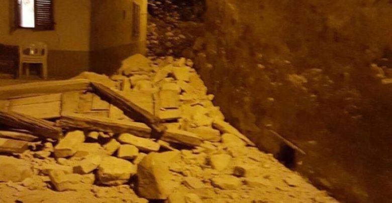 Terremoto Centro Italia: Cimitero Arquata Inagibile