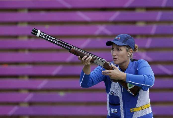 Chiara Cainero Argento nello Skeet Femminile (Olimpiadi Rio 2016)