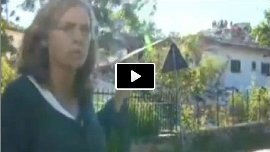 Terremoto Centro Italia, casa crolla in Diretta Tv sulla CNN (Video)