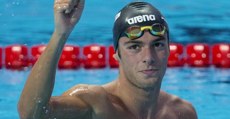 Gabriele Detti Bronzo 400 m Stile Libero (Nuoto Olimpiadi 2016)