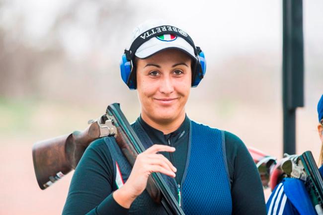 Diana Bacosi Oro nello Skeet Femminile (Olimpiadi Rio 2016)