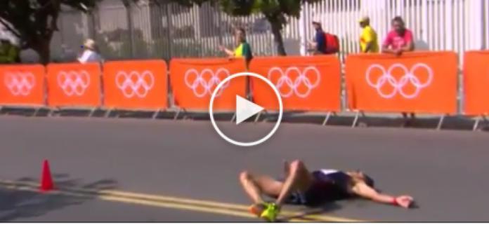 Video | Diniz sviene nella 50 km Marcia Uomini a Rio 2016