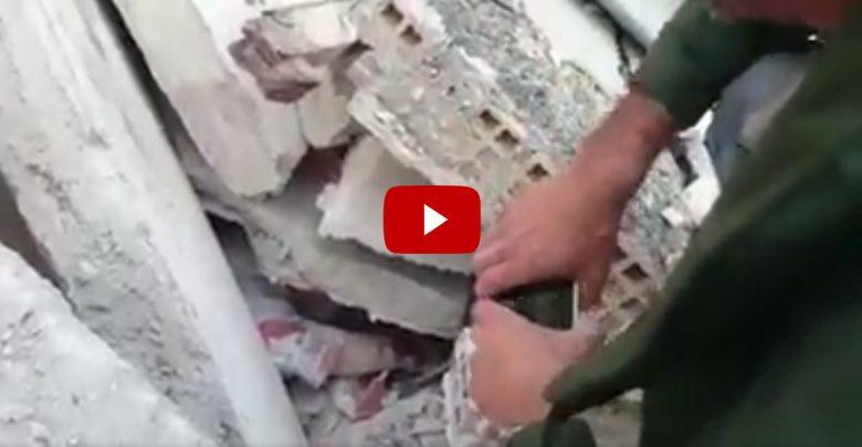 Video | Terremoto 24 agosto 2016 Rieti, donna soccorsa ad Ascoli
