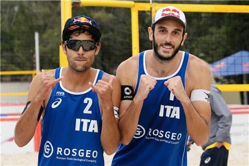 Dalhauser/Lucena-Lupo/Nicolai 2-1 (Beach Volley Rio 2016)