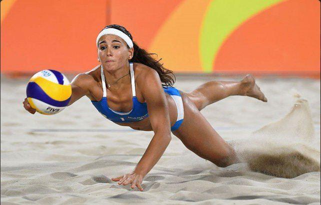 Ludwig/Walkenhorst-Menegatti/Giombini 2-1 (Beach Volley Rio 2016)
