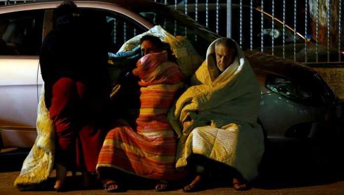 Terremoto Amatrice, la Notte degli Sfollati (Foto) 1