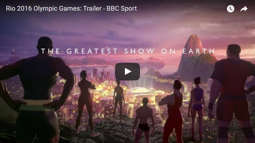 Spot BBC Olimpiadi Rio 2016 (Video)