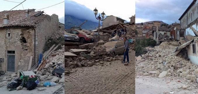 Terremoto Illica (Rieti), proteste per i soccorsi in ritardo