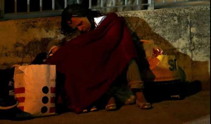 Terremoto Amatrice, la Notte degli Sfollati (Foto) 3