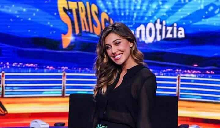 Belen Rodriguez conduttrice a Striscia la Notizia (video 26 settembre)