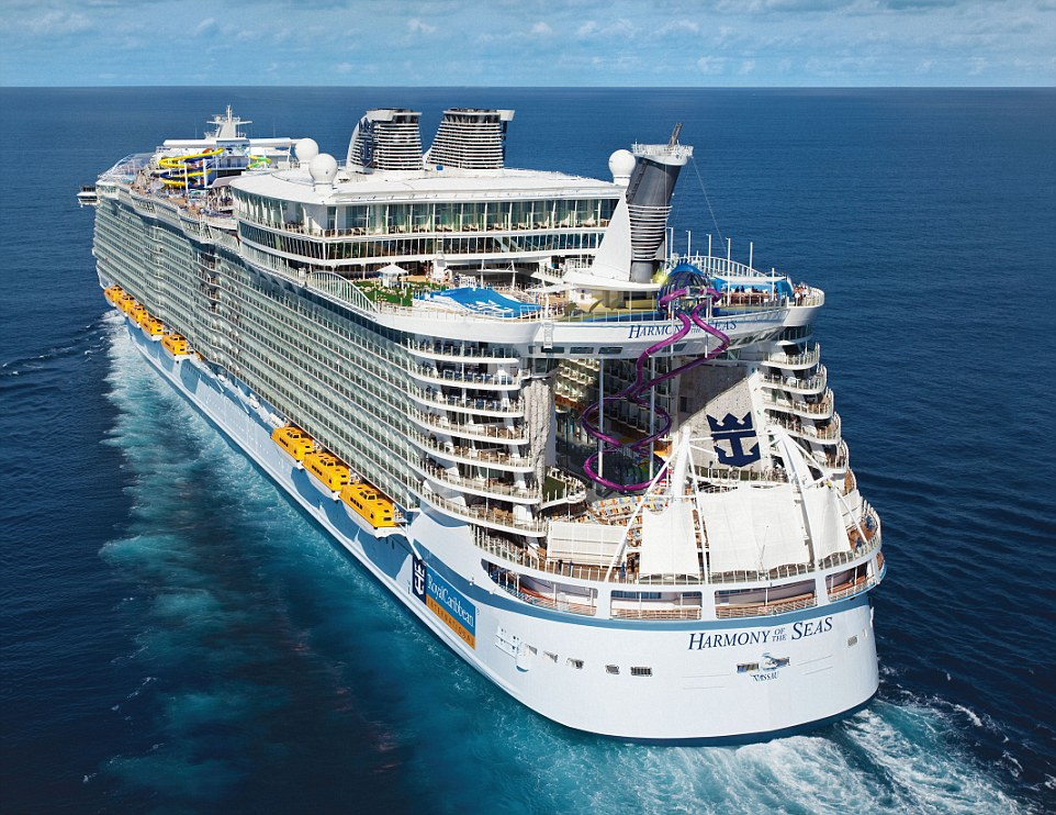 Incidente su Nave da Crociera Harmony of the Seas: un Morto