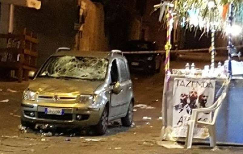 Nule, auto travolge folla durante la sagra del Paese: 31 Feriti
