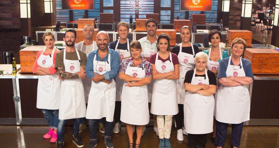 Celebrity MasterChef Italia: cast completo e quando inizia