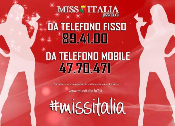 Finale Miss Italia 2016: Come Votare