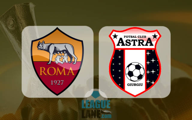 Roma-Astra Giurgiu 4-0 Risultato Finale