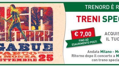 Photo of Trenord, biglietti a 7 euro per i concerti di Ligabue