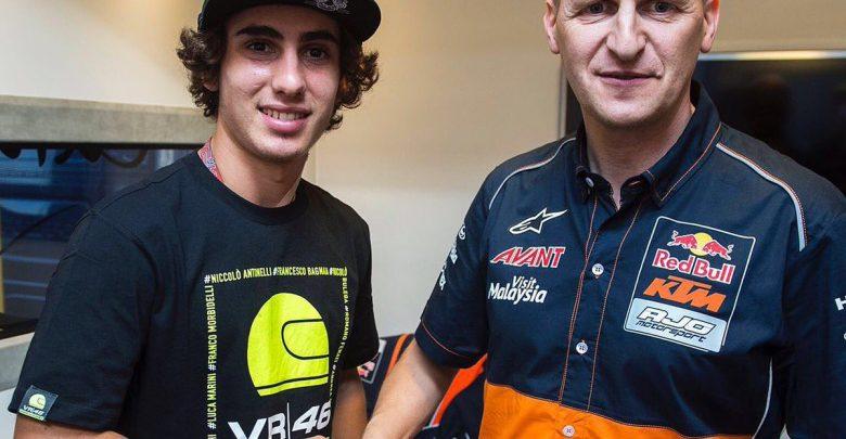 Moto3, Antonelli con Red Bull KTM Ajo dal 2017