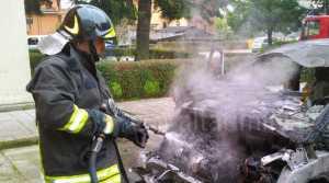 Rimini, Carabiniere ritrovato carbonizzato in auto