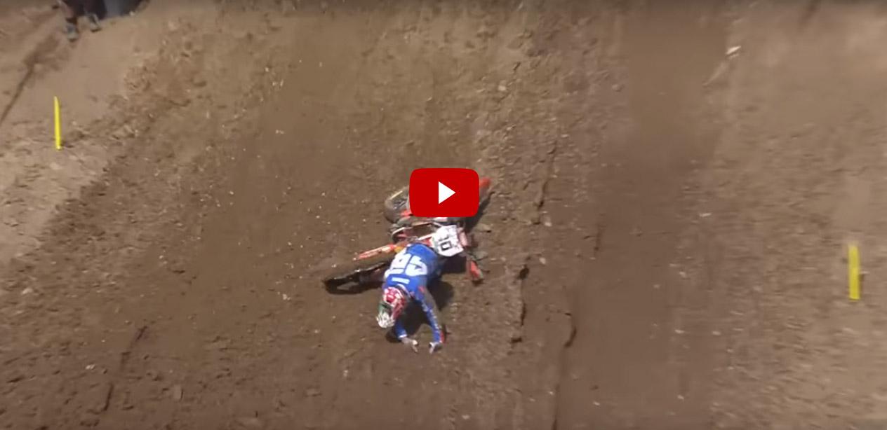 Caduta Cairoli Mxgp Motocross delle Nazioni 2016 (Video)