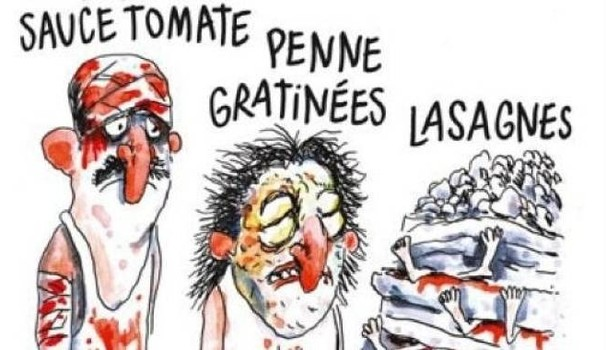 Vignetta Charlie Hebdo sul Terremoto (Foto) 1
