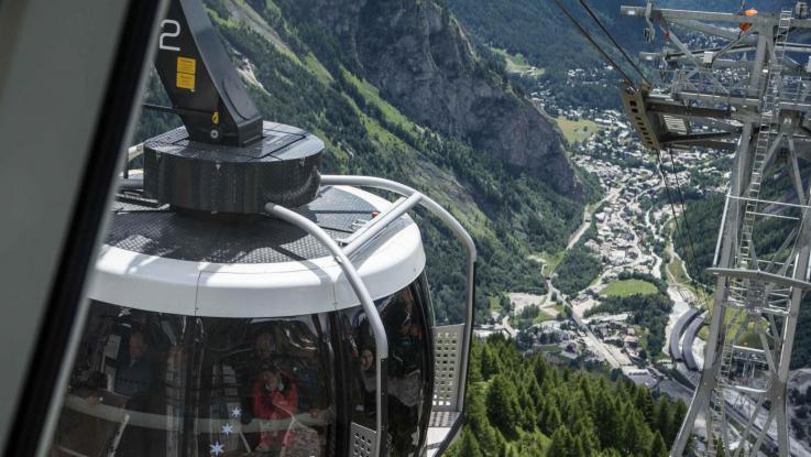 Monte Bianco, Guasto alla Funivia: bloccati in 60 senza soccorsi