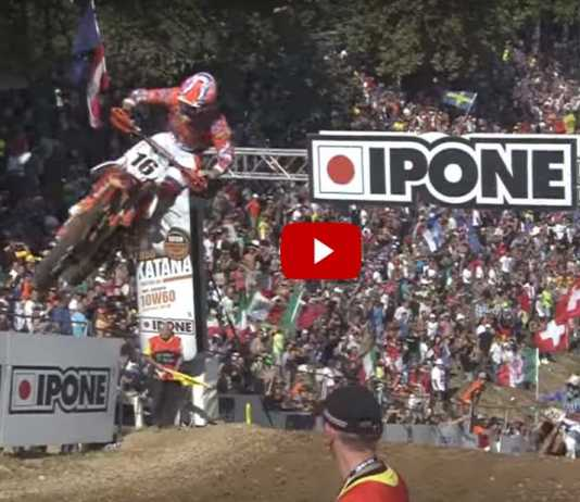 Highlights Motocross delle Nazioni 2016 (Video)