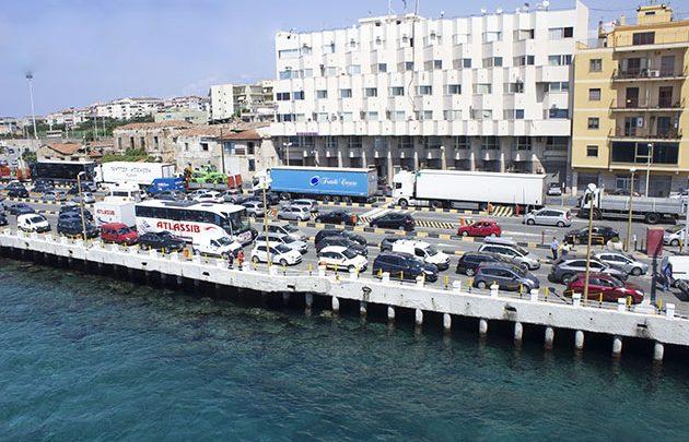 Imbarco Villa San Giovanni: Traffico in tempo reale 15 Settembre 2016