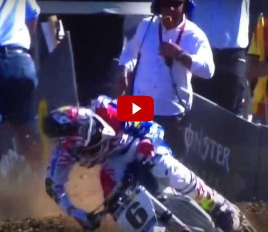 Incidente Jason Anderson Motocross delle Nazioni 2016 (Video)