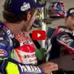 Lite Rossi-Lorenzo conferenza stampa MotoGp Misano (Video)