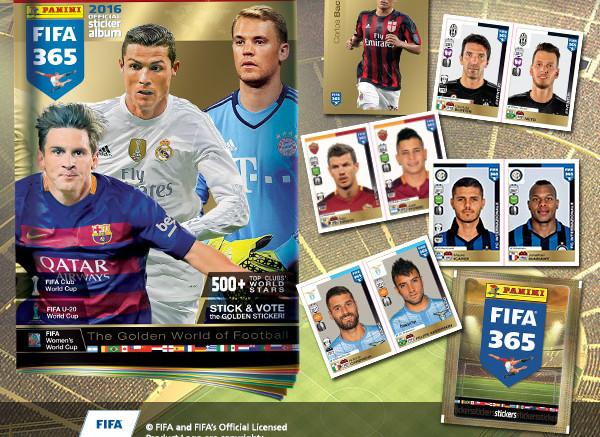 Album Panini FIFA 365 con la Gazzetta: In regalo il 29 settembre 2016