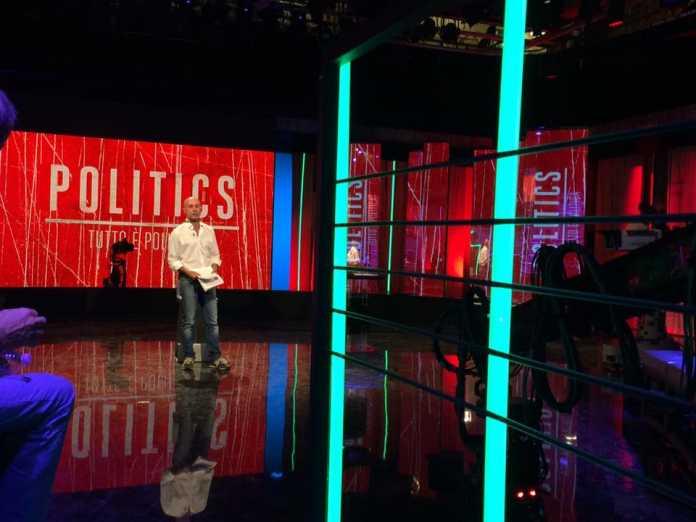 Anticipazioni Politics puntata 6 Settembre 2016: Ospiti e Promo