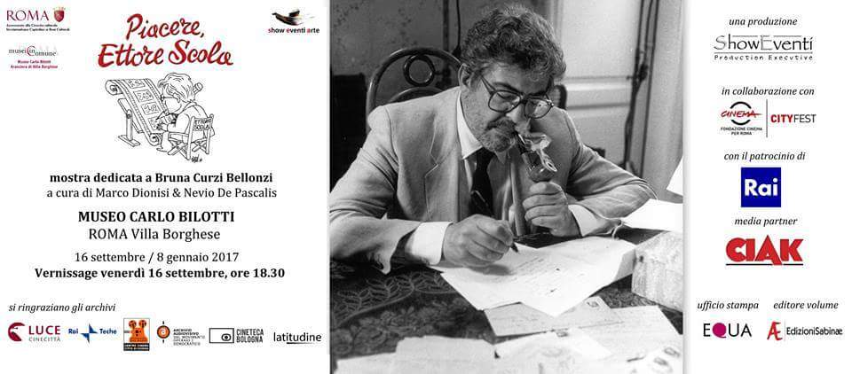 """Mostra """"Piacere, Ettore Scola"""" a Roma: recensione preview esclusiva Newsly.it"""