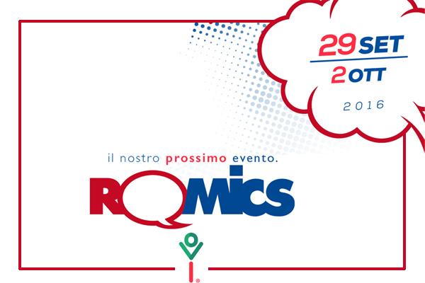 Romics 2016, date di Ottobre 4