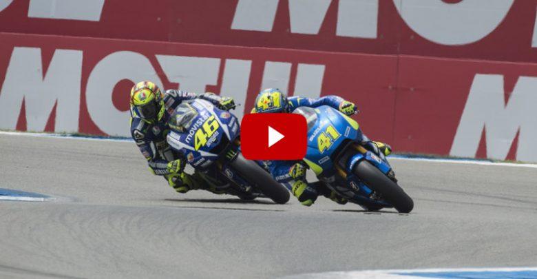 Rossi-Espargaro: il dito medio di Valentino (Video)