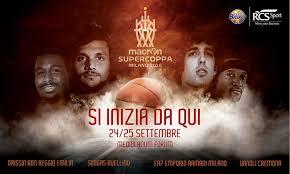Supercoppa Basket 2016: Calendario e Orari (Lega A)