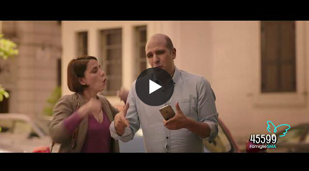 Spot di Checco Zalone per la ricerca sulla SMA | Video