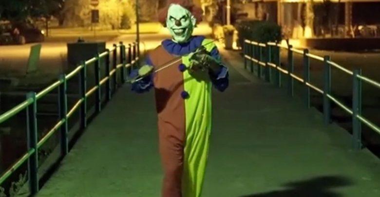 Pagliaccio Assassino a Mondragone: clown vero o bufala?