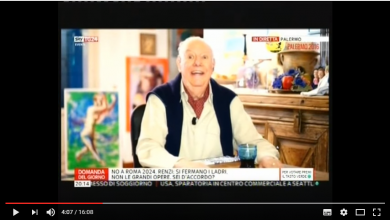 "Photo of Dario Fo morto: intervista convegno ""Italia a 5 Stelle"" a Palermo (Video)"