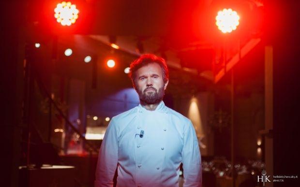 Chi è Giulio Paolini? Concorrente Hell's Kitchen Italia 2016 2